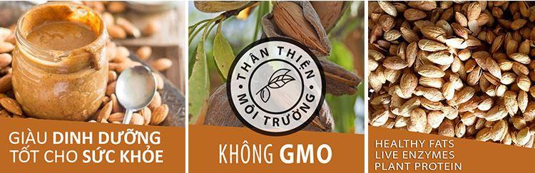 hạnh nhân rang giàu dinh dưỡng DK harvest
