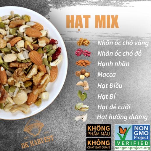 hat mix 8 loai DK harvest