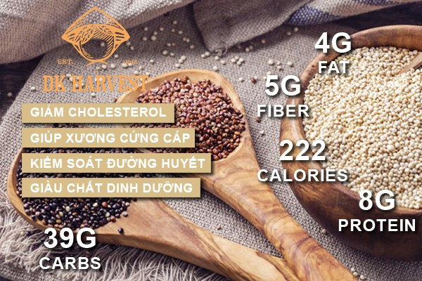 hat diem mach quinoa co tac dung gi