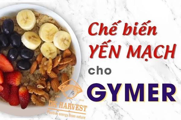 yen mach cho nguoi tap gym