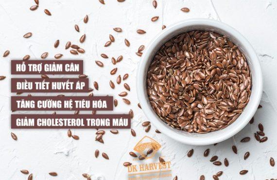 Hạt lanh là hạt gì? 8 Tác dụng của hạt lanh mang lại cho cơ thể