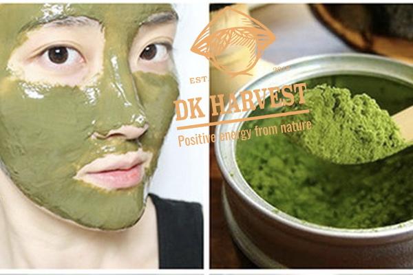 Một số cách đắp mặt nạ bột rau má tốt cho da