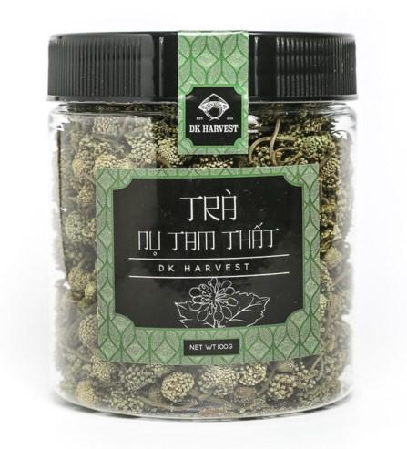 tra hoa tam that dk harvest